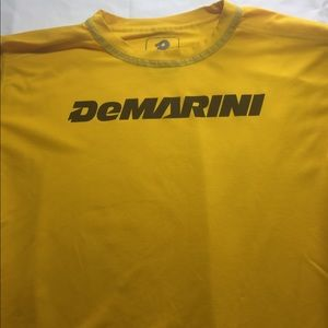 Demarini men's XL yellow t shirt
